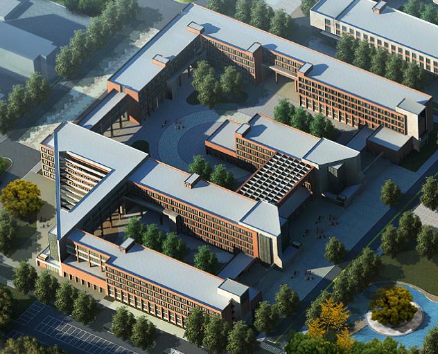 内蒙古建筑职业技 术学院西教学实训区工程