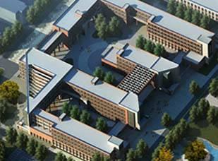 内蒙古建筑职业技术学院 西教学实训区工程