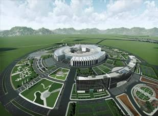 中蒙博览会永久性国际会展中心建设项目